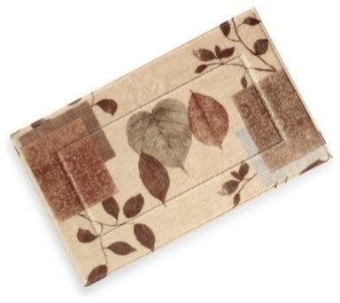 bed bath and beyond bath mats leaf study bath rug contemporary bath mats by bed
