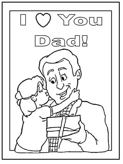 christmas coloring pages for dads daddy coloring pages for kids on father s day family