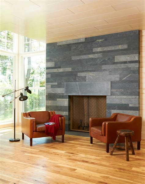 Fushia Rug Soapstone Fireplace Surround Dining Room Contemporary With