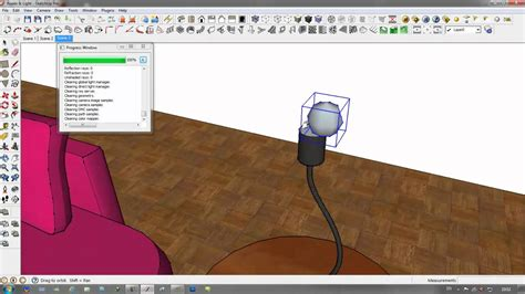 tutorial omni light vray sketchup v ray for sketchup q a light l with 2side material