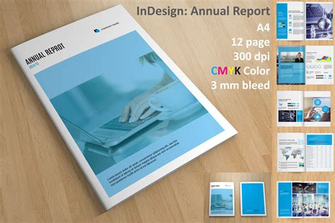 annual report v110 brochure templates on creative market