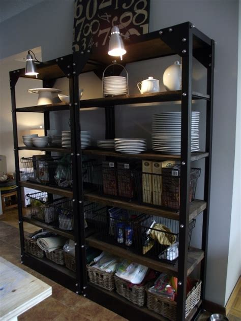 Metal Kitchen Shelving by Styling Open Shelving In The Kitchen Metal Shelves