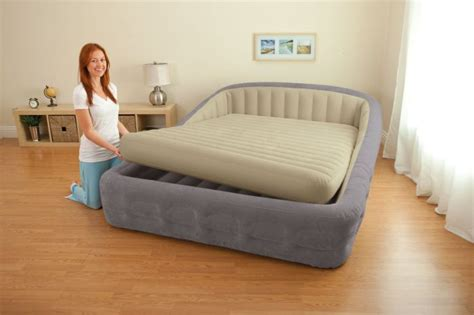 folding air bed frame airbed home delightful