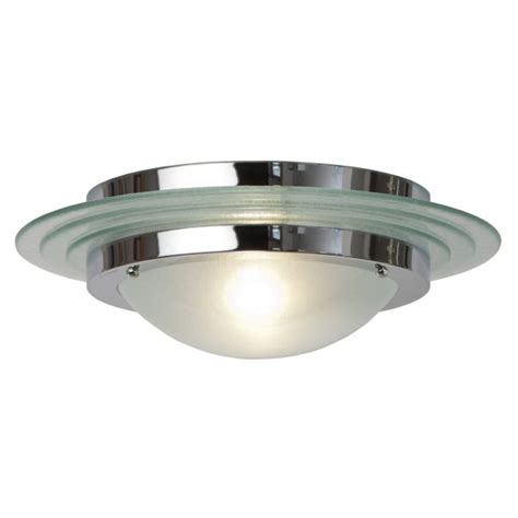 Large Art Deco Flush Fitting Circular Ceiling Light For Light Fittings For Low Ceilings
