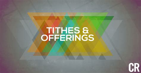 prayer for tithes and offering in church