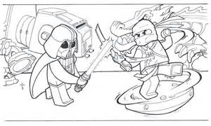 ภาพระบายส การ ต น น นจาโกลายเส น ninjago coloring pages