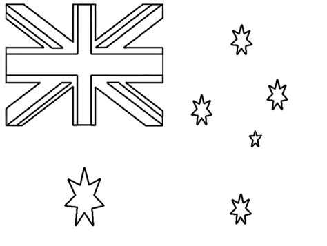 australian flag template to colour 28 australian flag template to colour australian flag