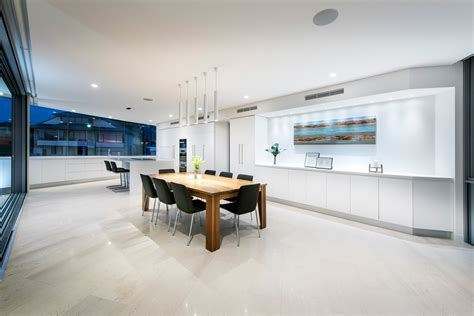 Open Plan Kitchen Diner Ideas Australian Residence Merges Exquisite Design And