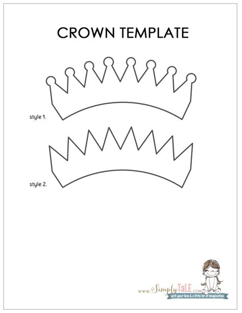 template of a crown the gallery for gt tiara crown template