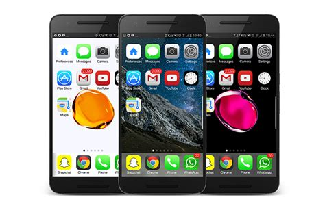 ios launcher for android tunea tu android al estilo iphone 7 plus