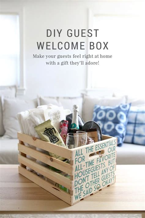 guest gifts for christmas diy guest welcome box free printable template shrimp salad circus