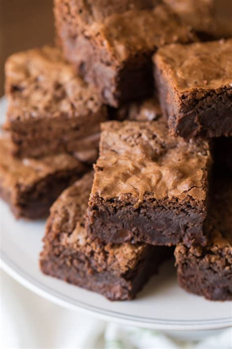 thick and fudgy brownies lovely