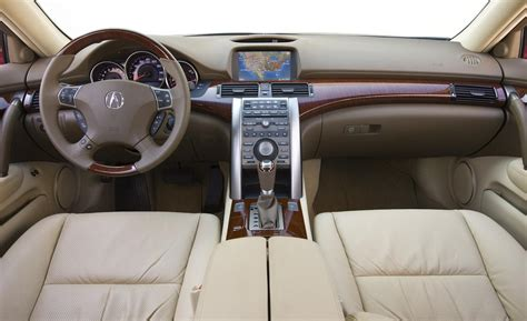 Acura Rl Interior by Car And Driver