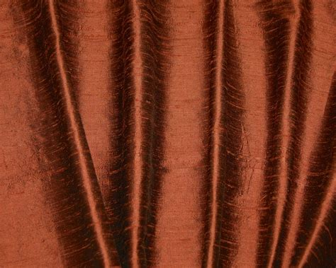 burnt orange silk curtains custom cinnamon silk dupioni drapes