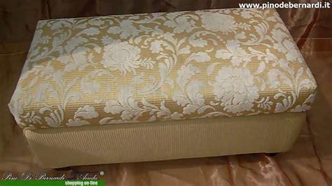 imbottire un divano poltrone pouff pouff rettangolare