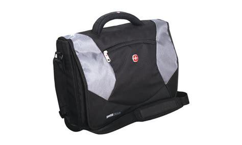 Swiss Army Sa Grey wenger swiss army laptop breif messenger bag sa1010 groupon