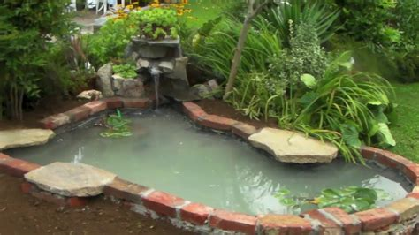 piccolo laghetto in giardino come creare un piccolo laghetto in giardino parte seconda