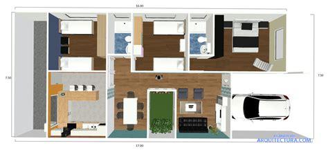 dise 241 o de plano de apartamento peque 241 o de un dormitorio plano de casa de un piso y tres habitaciones modelo de