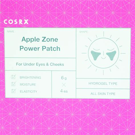 apple zone cosrx apple zone power patch review