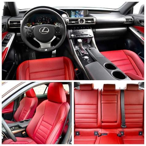 lexus is 250 red interior rioja red is the new black the 2014 lexus is 250 fsport