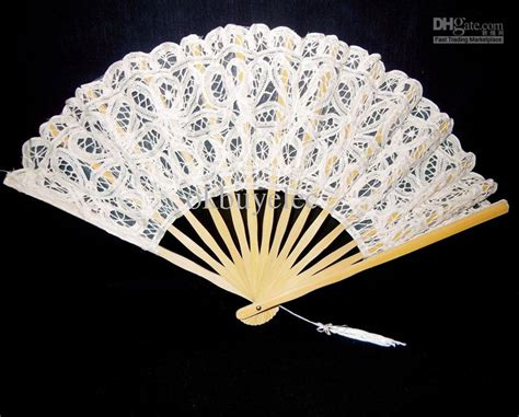 cheap hand fans for wedding vintage white spanish lace hand fan for wedding bridal