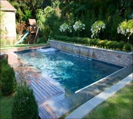 Small Backyard Inground Pool Design Small Inground Pools For Small Yards Small Pools Small Inground Pool Yards And