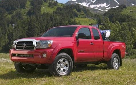 Toyota Tacoma Ground Clearance 2006 Toyota Tacoma Ground Clearance Specs View
