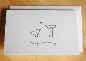 anniversary card simple birds by littleshopofellesee
