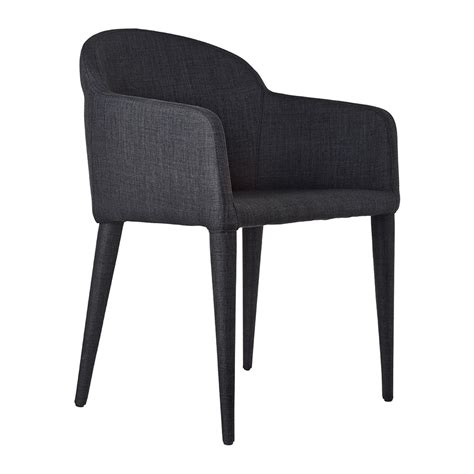 white fabric dining chair with back and double arms also buy pols potten fabric arms chair grey amara