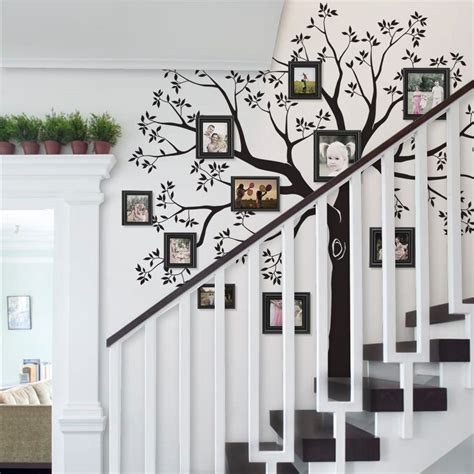Giant Tree Wall Stickers staircase family tree wall decal tree wall decal