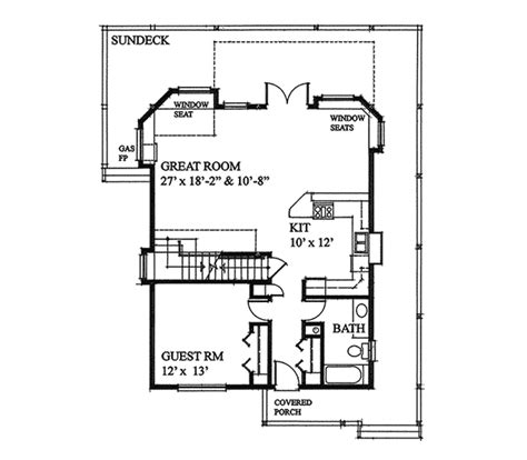 vacation home floor plans laurens cove vacation home plan 080d 0013 house plans