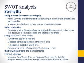Swot Analysis Of Mercedes Eos Mercedes