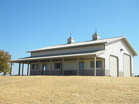 Traditional House Plans With Porches by Colorado Pole Barns For Garages Sheds Amp Hobby Buildings