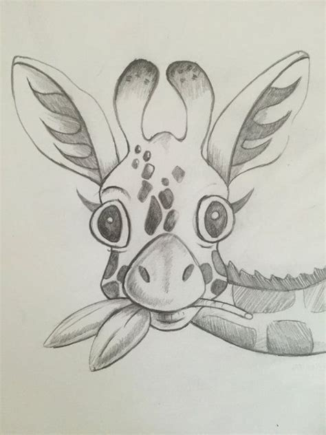 ideas for drawing best 20 giraffe drawing ideas on