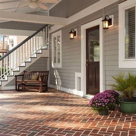 exterior paint color ideas  red brick  roundecor