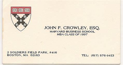 harvard business card template welcome to barbara s world