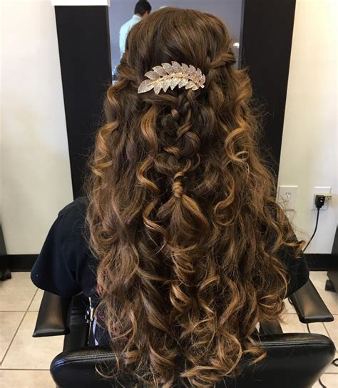 prom hairstyles loose curls 21 prom hairstyles updos ideas designs design trends