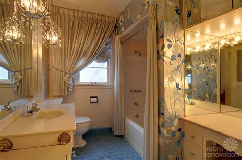hollywood regency bathroom same owners for 70 years this 1940 seattle time capsule