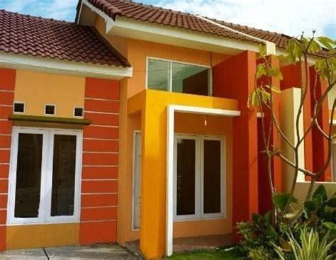 inspirasi warna cat depan rumah  bagus jangan