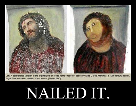 Jesus Painting Restoration Meme - pin by kenney aidoo on was up pinterest