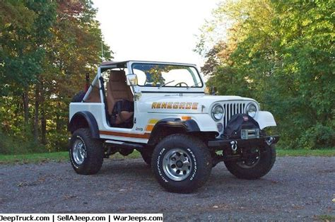 Jeep Cj7 Renegade For Sale 1983 Jeep Cj7 Renegade For Sale At Sellajeep With