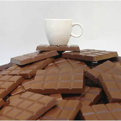 Chocolate Coaster It Or It by Chocolate Coasters Home Accessories Animi Causa Boutique