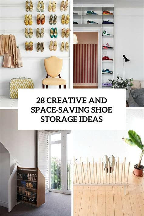 creative shoe storage ideas 28 creative shoe storage ideas that won t take much space
