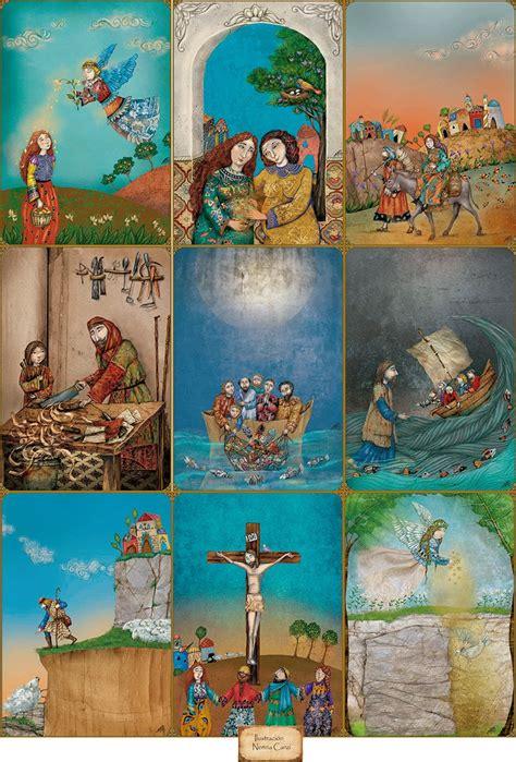 imagenes de la vida de jesus en caricatura nerina canzi ilustraciones la vida de jes 218 s algunas