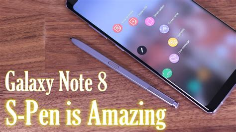 note 8 s pen tutorial galaxy note 8 full s pen tips tricks features that