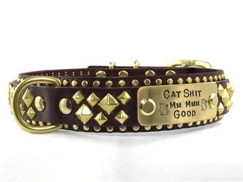 Collars That Bring Karma by Leather Collars Karma Collars Handmade In The Usa