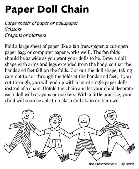 How To Make Paper Doll Chain - 151 best images about diy paper dolls on