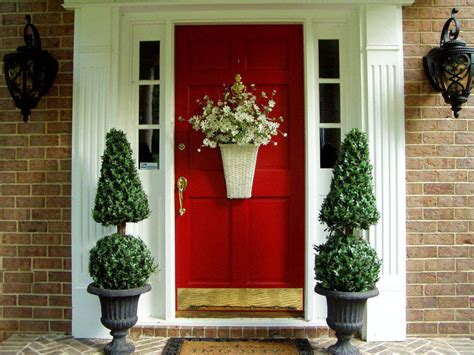 red door home decor variety of spring door decorating for front door all homes