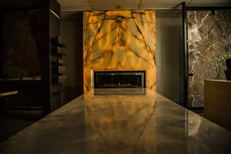 Onyx Fireplace by Custom Fireplaces Furniture Toronto