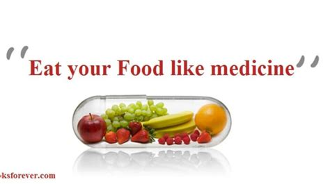 Do You Feed Your Food by Eat Your Food Like Medicine